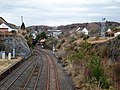 Kyle of Lochalsh station approach, Ross and Cromarty - view north-west.jpg