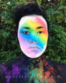 Kylee Fleek Rainbow Makeup Profile Picture.png