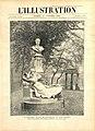 L'Illustration (23 octobre 1897) - Monument à Maupassant, parc Monceau, Paris.jpg