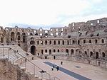 L'intérieur du l'Amphithéâtre d'El Jem Tunisie 2014-01-19 17-26.jpg
