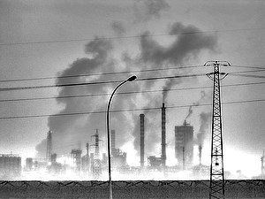 English: Air pollution
