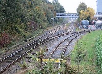 Lüdinghausen railway station - Image: Lüdinghausen BF JM 19