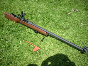 International Confederation of Fullbore Rifle Associations - An L81 A2 Cadet Target Rifle.