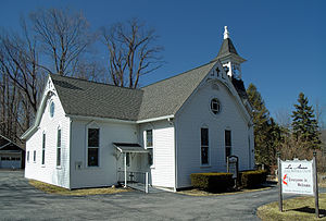 Greene Township, Pike County, Pennsylvania - La Anna United Methodist Church in the township