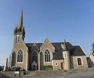 La Bazouge-du-Désert - Church of Bazouge du Désert
