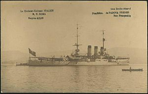 La Croiseur-Cuirasse Italien Roma Smyrne 4 6 19.jpg
