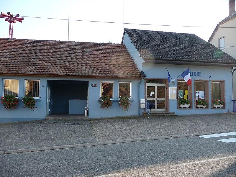 La mairie de Walschbronn