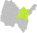 Labalme (Ain) dans son Arrondissement.png