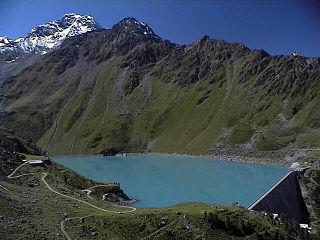 Lac de Cleuson reservoir