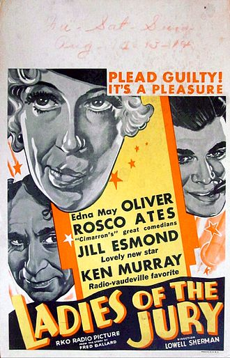 Ladies of the Jury - Theatrical release poster