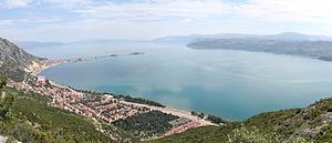 Eğirdir - An outlook of Lake Eğridir and the town