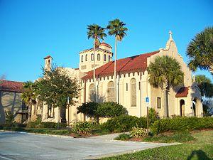 Church of the Holy Spirit (Lake Wales, Florida) - Image: Lake Wales Holy Spirit Church 01