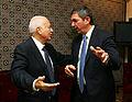 Lambrinidis talking with Amr.jpg