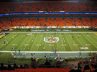 2014 Orange Bowl (January) - The 2014 Orange Bowl was played at Sun Life Stadium January 2010 photo.