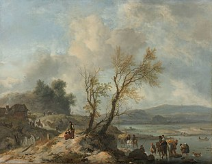 Landscape with a Sandy Path