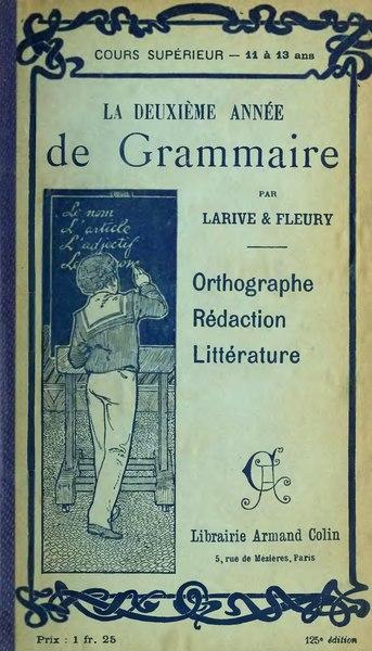 File:Larive Fleury Grammaire 1910 tome 3.djvu