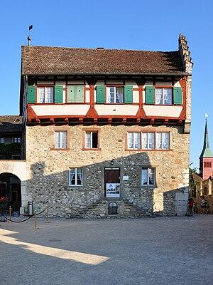 Laufen Castle (Switzerland) - Courtyard of Schloss Laufen, 2010