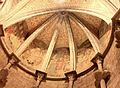 Lausanne, Cathédrale Notre-Dame, peintures au plafond, entrée principale.jpg
