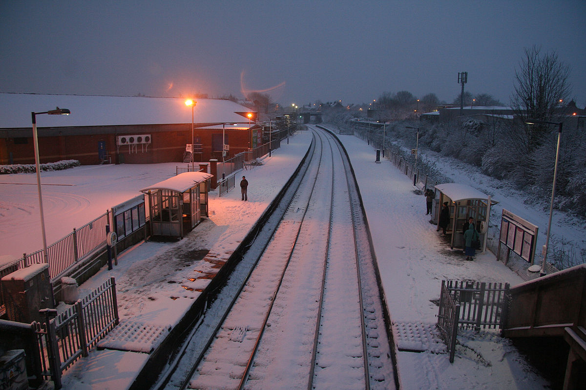 Lawrence Hill railway station