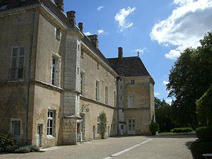 Château de Germolles - Image: Le corps de logis vu du nord Château de Germolles