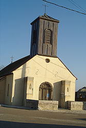 The church in Lechâtelet