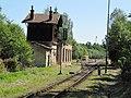 Ledečko, nádraží, vjezd do stanice.jpg