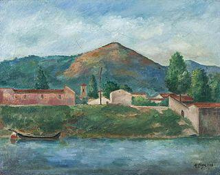 Italien painter