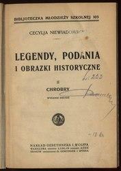 Legendy, podania i obrazki historyczne