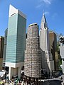 Lego buildings- Citicorp Building, Lipstick Building, and Chrysler Building, together at last.jpg