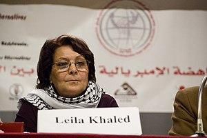 Khaled, Leila (1944-)