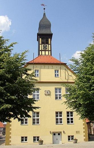 Lenzen (Elbe) - Image: Lenzen town hall