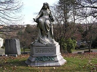 Leopold Damrosch - The grave of Leopold Damrosch in Woodlawn Cemetery