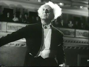 Leopold Stokowski - Screenshot from the 1947 film Carnegie Hall