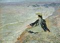 Lev Alperovich. Woman near sea.JPG