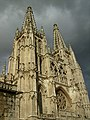 Light catches the cathedral as clouds gather overhead - panoramio.jpg