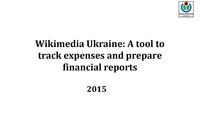 Lightening Talk- WMUA - A tool to track expenses and prepare financial reports.pdf