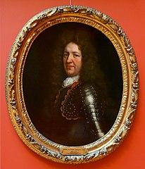 Portrait de Nazaire Joseph d'Angeville, lieutenant colonel d'infanterie étrangère