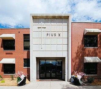 Pius X High School (Nebraska) - Image: Lincoln, NE Pius X High School
