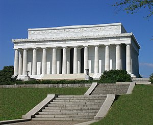 Lincoln Memorial Lincoln-Memorial WashingtonDC.jpg