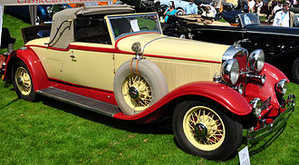 Lincoln K series - 1931 Lincoln K-series LeBaron roadster convertible