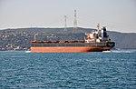 Linda Leah cargo on the Bosphorus in Istanbul, Turkey 004.jpg