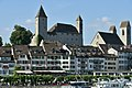 Lindenhof-Herrenberg Rapperswil - Schloss - Stadtpfarrkirche - Seequai - Seedamm 2015-05-27 18-07-32.JPG