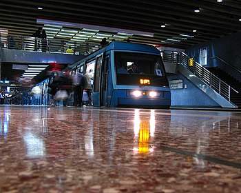 Linea 1 Metro de Santiago