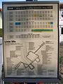 Linie 99B Fahrplanaushang 2003.JPG