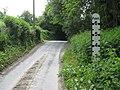 Lip of the flood dip on Birchwood Lane, Longley Green - geograph.org.uk - 813122.jpg