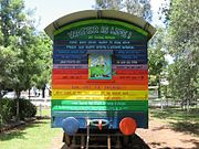 Lismore rainbowtrain