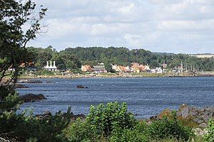 Listed, Bornholm - Listed, Bornholm, from East