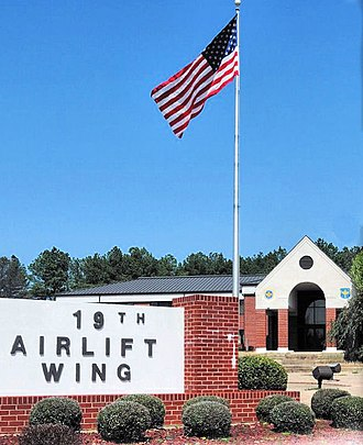 Little Rock Air Force Base - 19th Airlift Wing Headquarters Building
