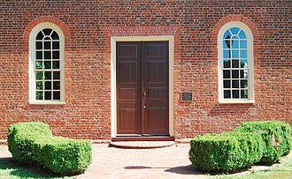 Little Fork Church - Little Fork Church: South Doorway