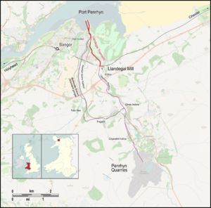 Penrhyn Quarry Railway - Llandegai Tramway